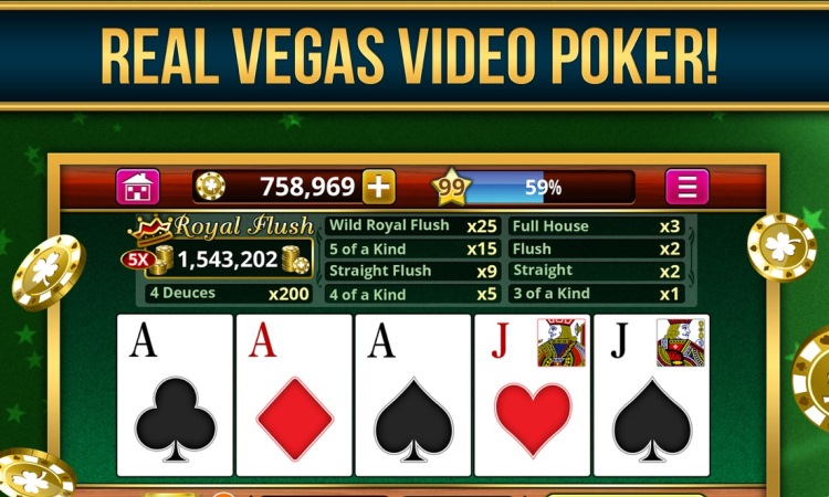 Royal Vegas Video Poker Casino